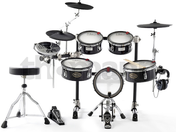 Mesh Head Electric Drum Kit