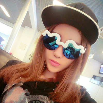 sunglasses women ray band Bending frame sunglasses wome