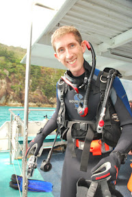 Me scuba diving at Luncheon Bay, Hook Island, Queensland