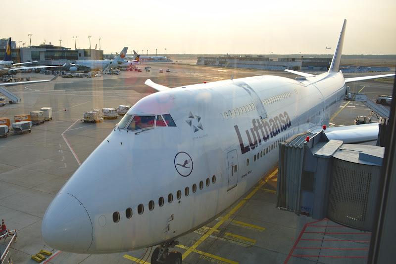 Drumul catre India a inceput cu un detour prin Frankfurt, patria zburatoarelor de la Lufthansa.