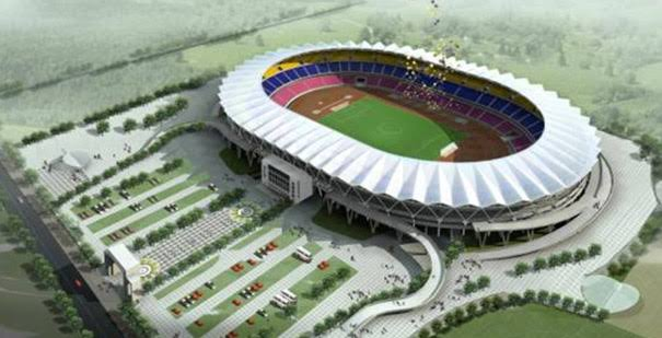 The largest stadium in Africa constructed at Dodoma