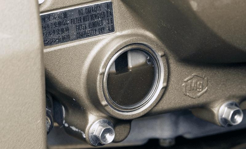 ★バイク整備の基礎 エンジンオイルの確認
