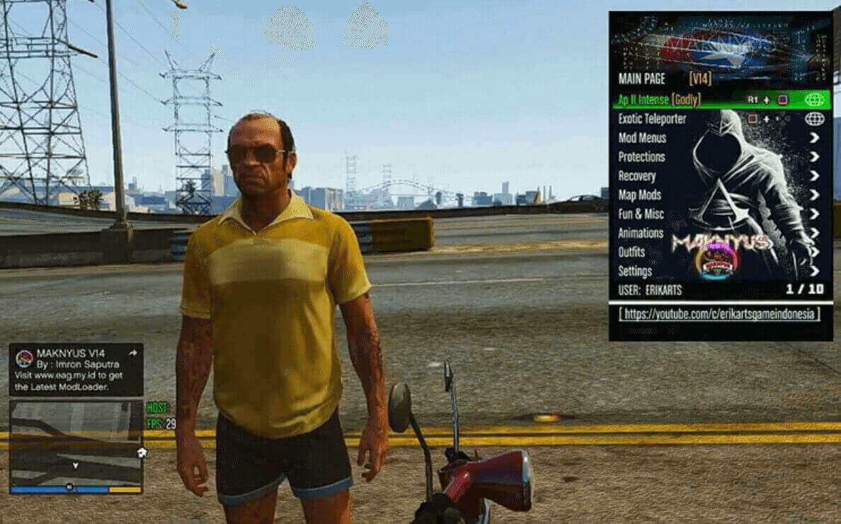 Mod GTA 5 PS3 Mod Maknyus V14