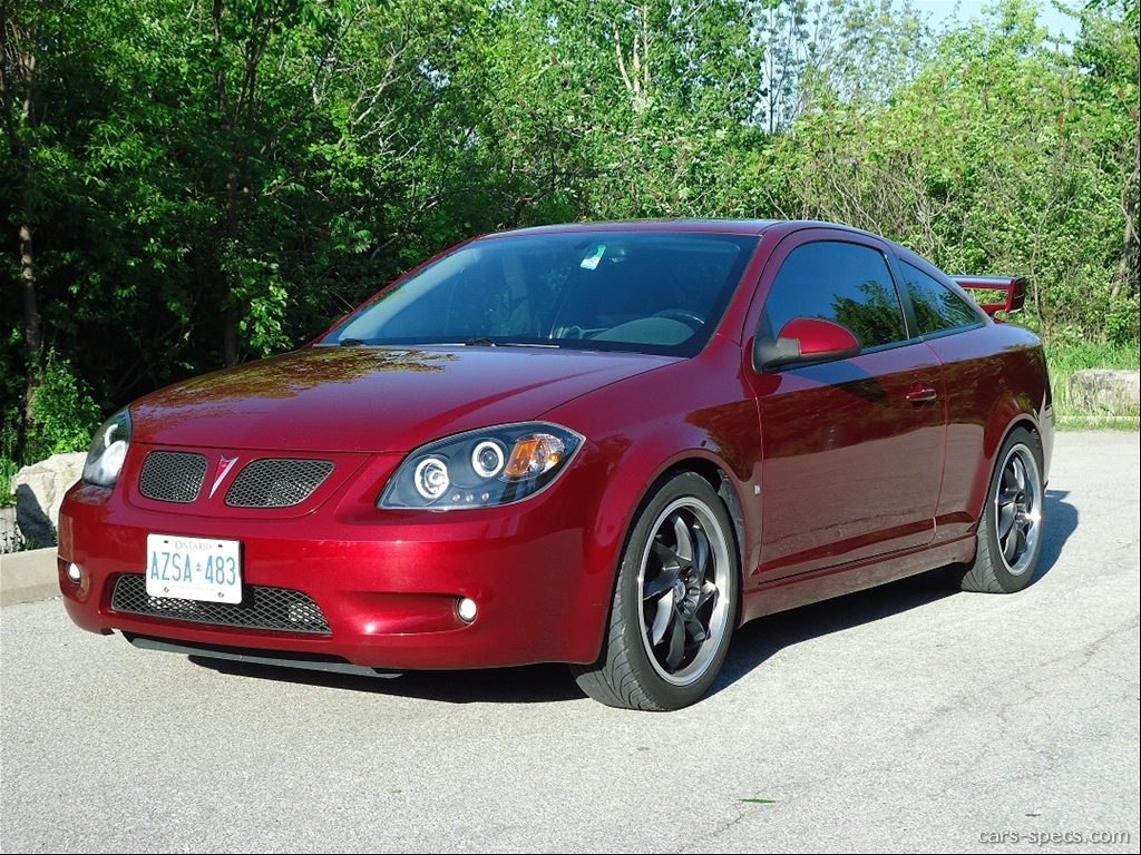 2008 Pontiac G5 Coupe Specifications Pictures Prices
