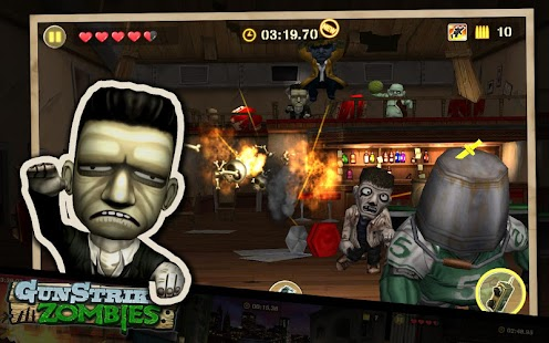 Gun Strike Zombies- screenshot