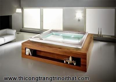 """18 chiếc bồn tắm cực """"cool"""" khiến bạn chìm đắm mãi không rời - Thi công trang trí nội thất-15"""