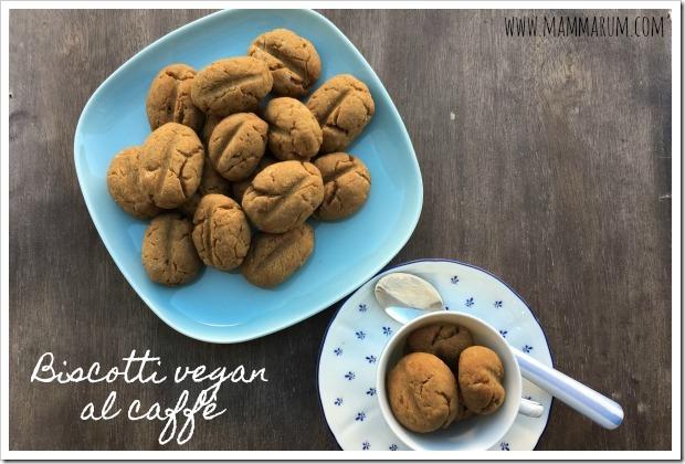 biscotti vegan al caffè
