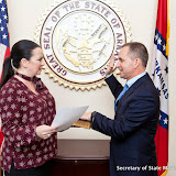 2-3-17 Michael Chaffin Oath of office Lo