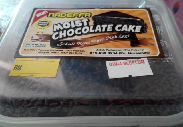 Moist Chocolate Cake Nadeffa