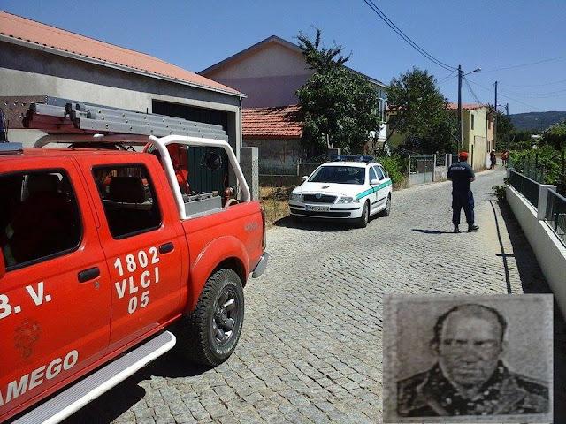 Bombeiros de Lamego cooperam com a GNR de Lamego para encontrar homem desaparecido há dois dias