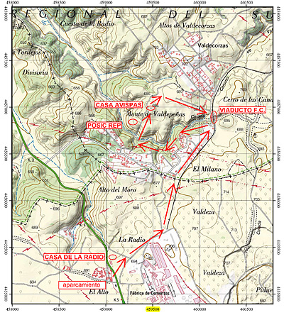 Sexta Ruta de la Guerra Civil: Casa de la Radio - Casa de las Avispas