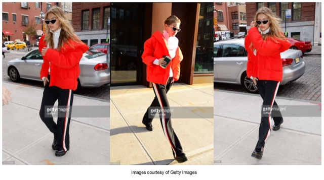 Gigi Hadid New York Fashion Week
