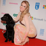 WWW.ENTSIMAGES.COM -      Camilla Kerslake   at       Guide Dog of the Year Awards at London Hilton Park Lane London December 10th 2014Annual awards which celebrate the partnership between guide dogs and their owners.                                              Photo Mobis Photos/OIC 0203 174 1069