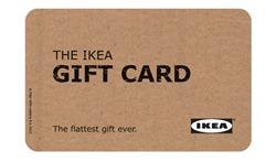 ikea gift card