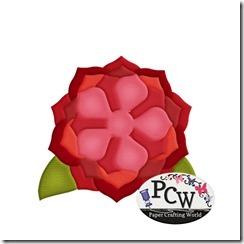 pcw layered rose-450