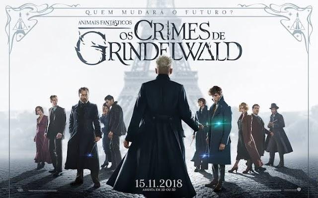 Tudo sobre o filme Animais Fantásticos e os crimes de Grindelwald