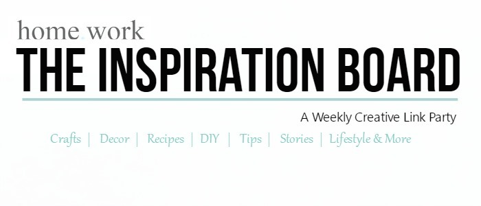 Homework The Inspiration Board Banner NEW