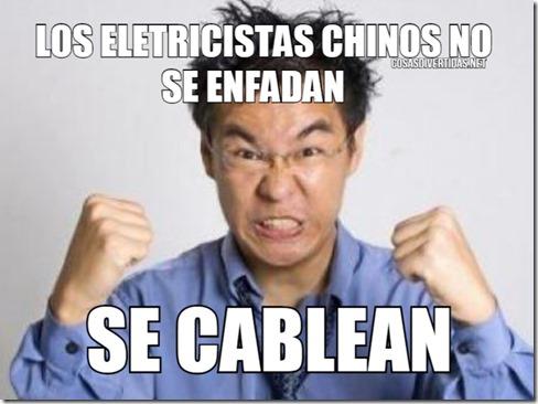 los eletricistas chinos no se enfadan humor