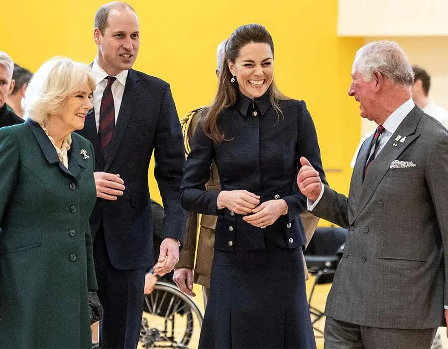Photos that Show Kate Middleton's Close Bond with Her Royal in-laws