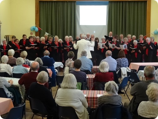 Wistaston Singers in Concert at St Mary's Church Hall