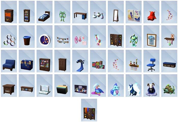De Sims 4 Kinderkamer Accessoires bouwen overzicht