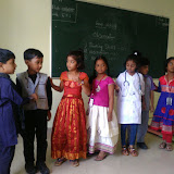 """Grade-I """"Introduction of Clothes"""", activity on 28th October 2015."""