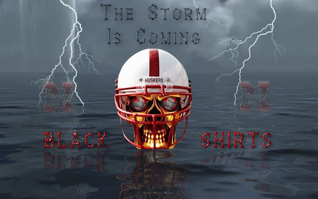Nebraska Blackshirts The Storm Is Coming