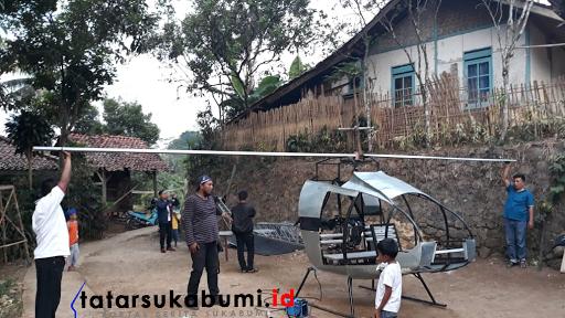 Gegara Macet, Jujun Junaedi Warga Sukabumi Ciptakan Mesin Terbang