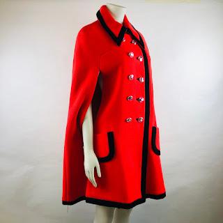 Paco Rabanne Vintage Couture Mod Cape