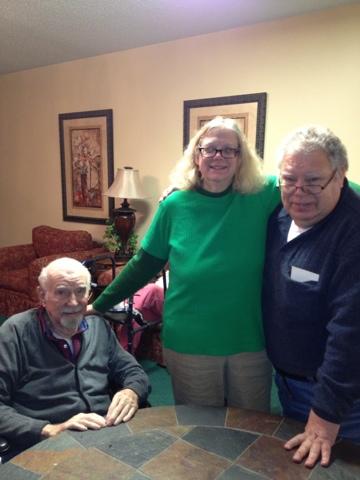 Frank, Karen and Steve