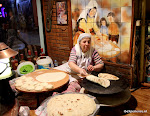 Lavas bakster bij Restaurant Marko