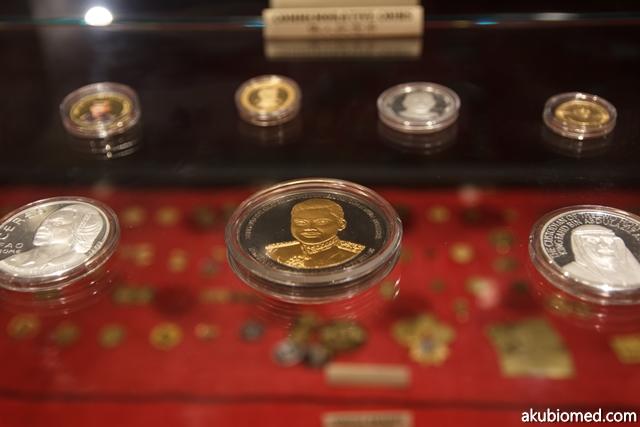 Koleksi perak dan emas untuk majlis keramaian pembesar negara