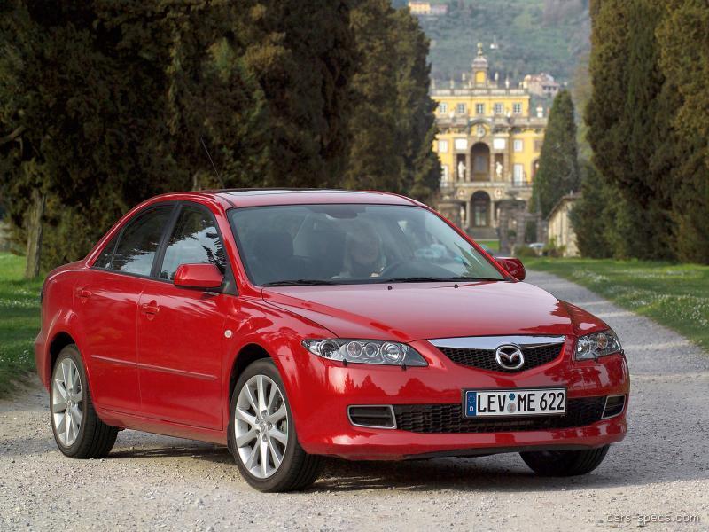 2006 Mazda Mazda6 Sedan Specifications  Pictures  Prices