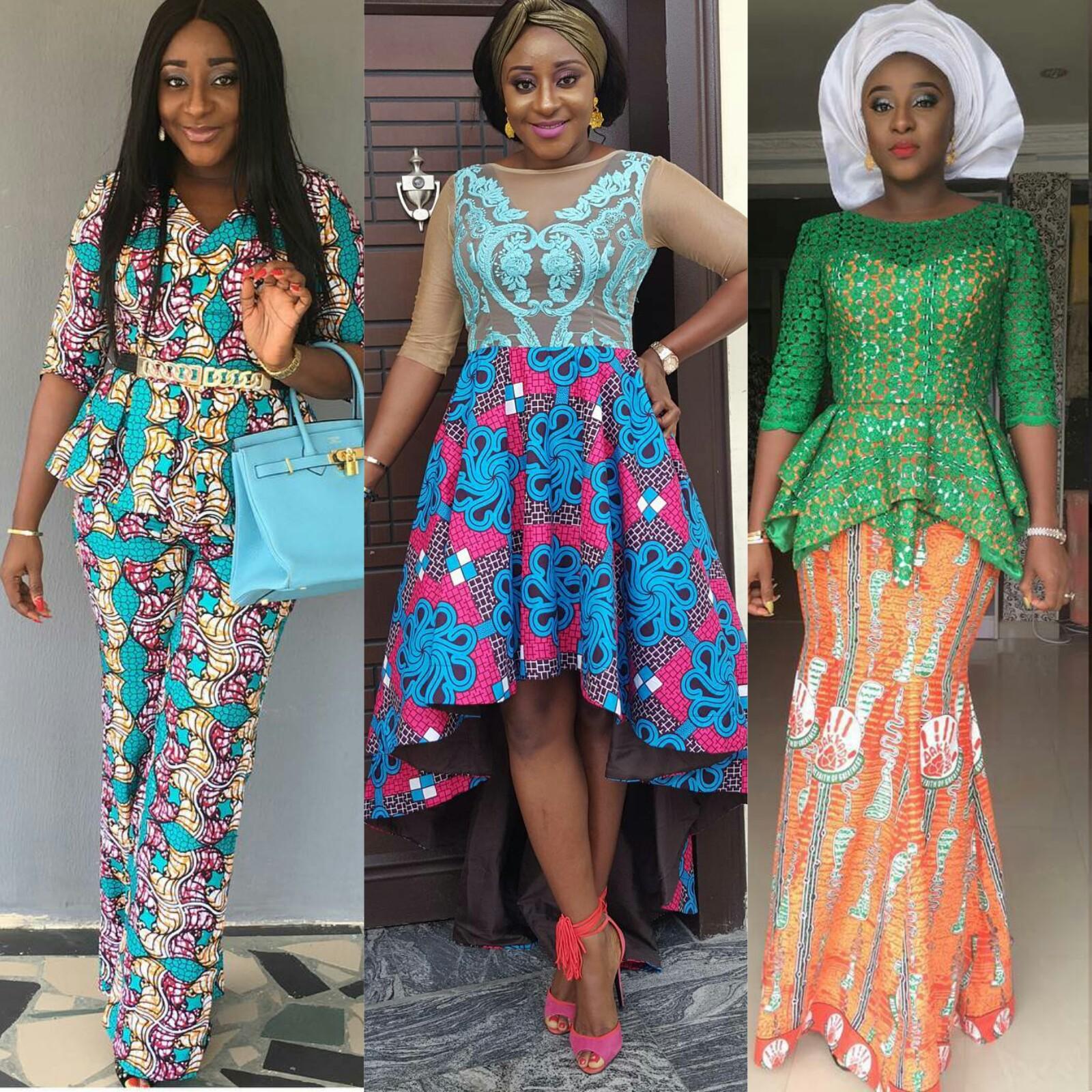 Stunning Ini Edo in African print ankara dresses | fashenista