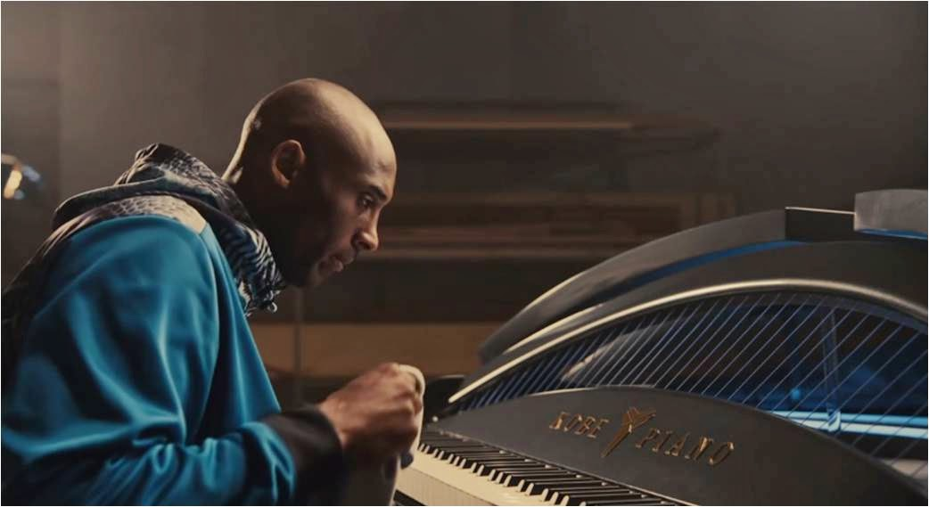 Kobe Bryant Makes Lionel Richie Weep in Foot Locker/Nike Grand Piano Ad for the IX Collection