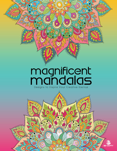 Magnificent Mandalas Adult Coloring Book