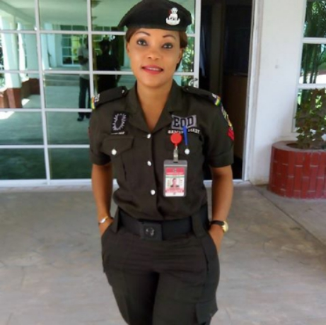 Re: Is She The Prettiest Female Police Officer In Nigeria?