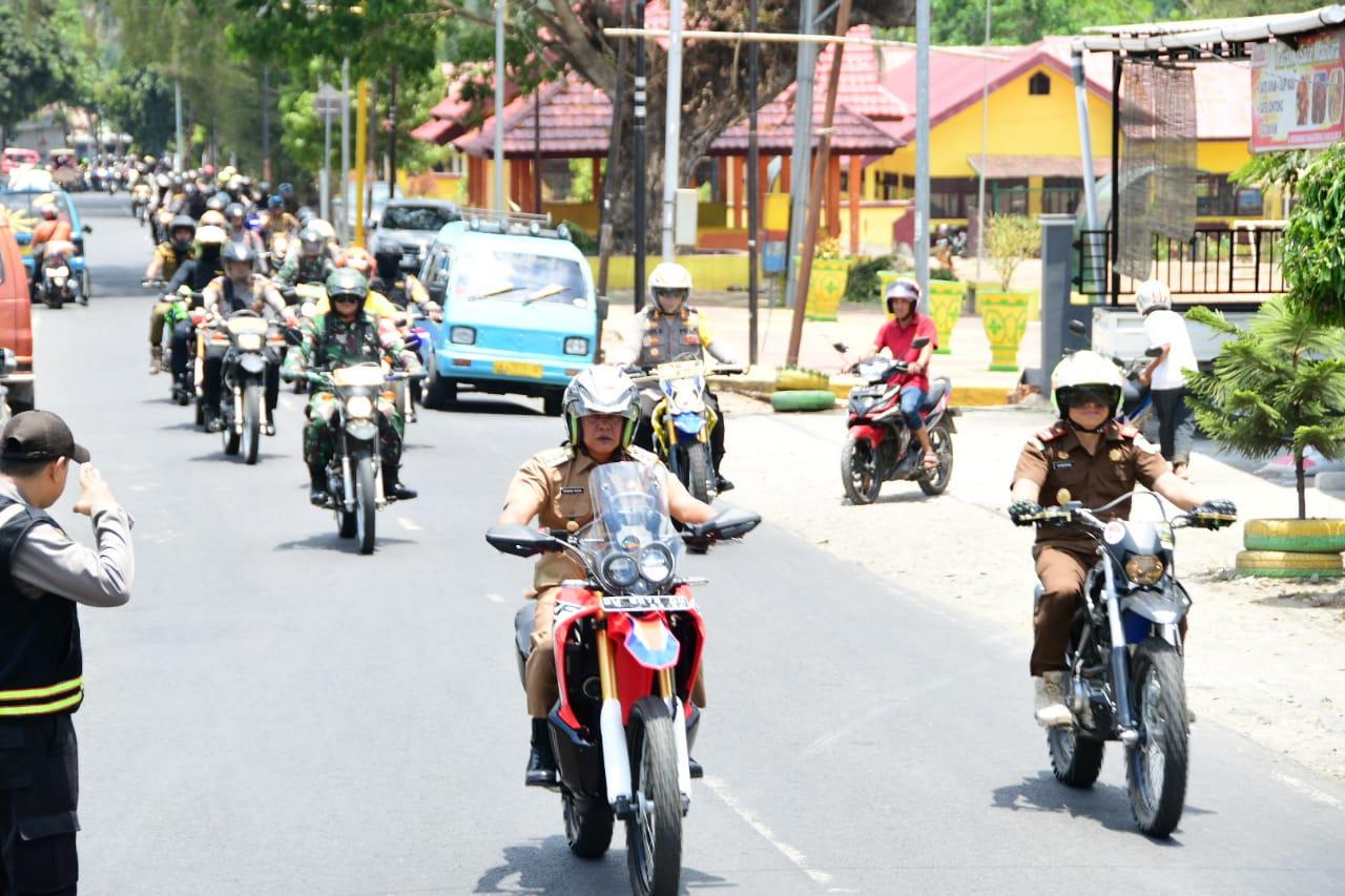 Bupati Soppeng Ikut Laksanakan  Patroli  Gabungan