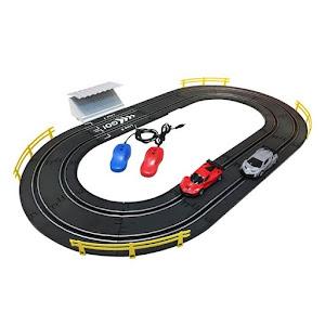 Pista cu controlul vitezei si 2 masini