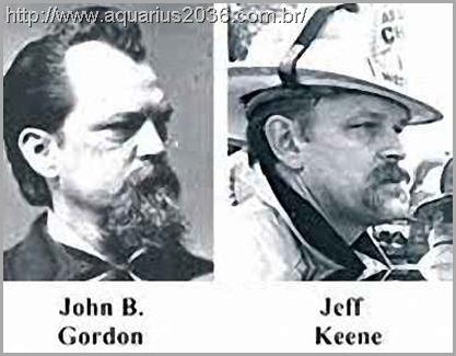 O caso da reencarnação de John Gordon B para Jeff Keene
