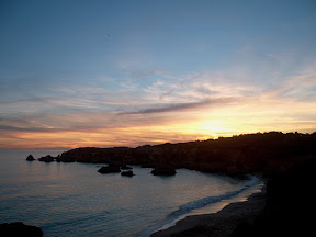 Sunset over the Algarve