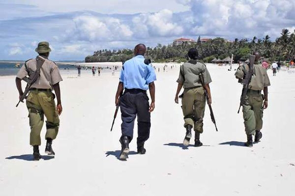 Police officers allegedly defiled a young lady at the coast beaches. PHOTO| NMG