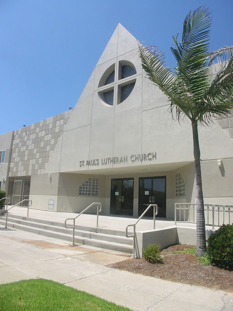 St. Paul's Lutheran Pacific Beach Int/Ext