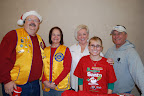 Scott Suiter, Lynn Salathiel, Linda Seymour, Breanna Fuller, John Paul Burnett. photos by Carol Wollin
