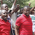 Protesting youths storm South African firms in Abuja