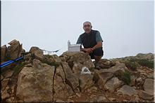 Castillo de Acher mendiaren gailurra 2.384 m.  --  2016ko ekainaren 12an