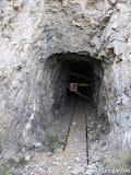 A mid-mine haulage adit we entered through.