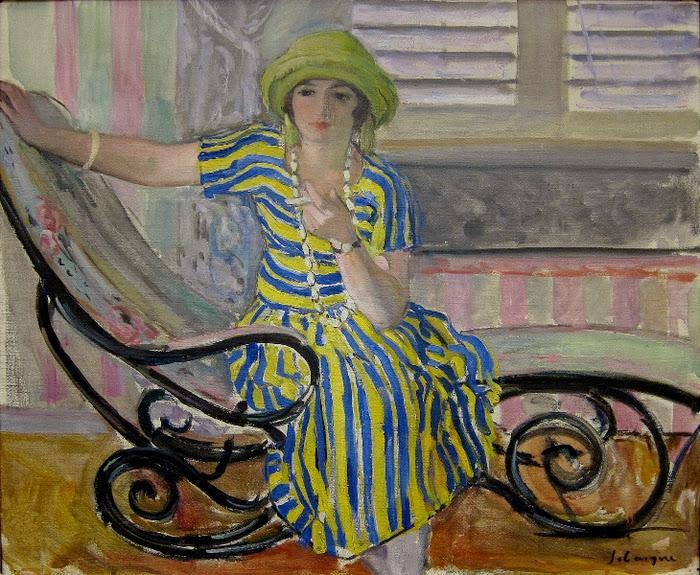 Henri Lebasque - La cigarette, 1921