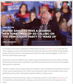 20160628_1800 Bernie Sanders Pens a Searing New York Times Op-Ed (Inquisitr).jpg