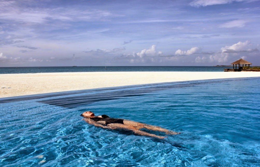 A Moment in the Maldives
